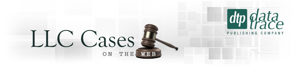 LLC Cases on the Web